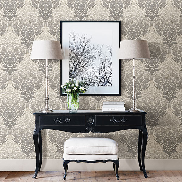 Peel and Stick Wallpaper Shop Damask Wallpaper