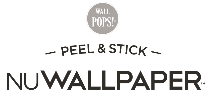 Peel and Stick Wallpaper Logo Image